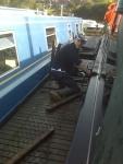 Matt destroys my pontoon