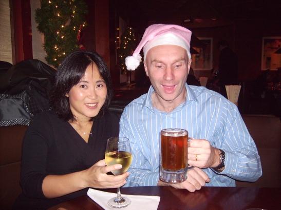 ian-and-junehee-drinking