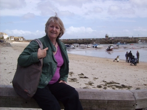 Ann beside the seaside...