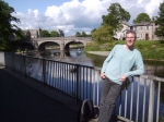 Adrian, riverside in Kendal
