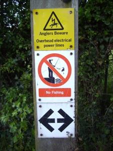 Anglers beware