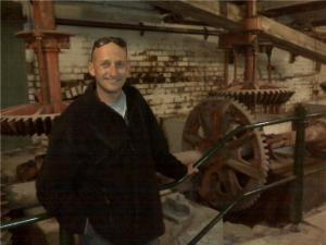 Smily Man with industrial archaeology